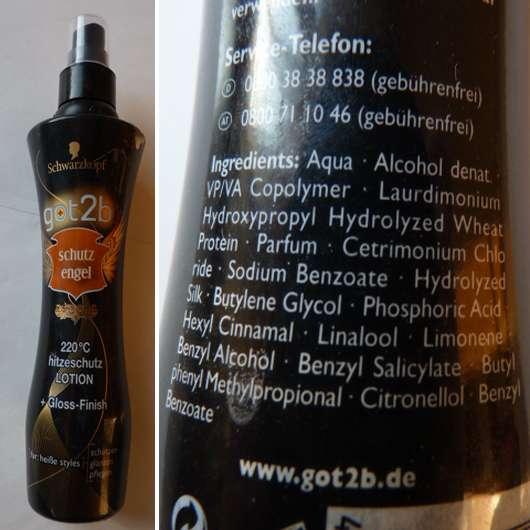 got2b Schutzengel 220°C Hitzeschutz Lotion + Gloss-Finish