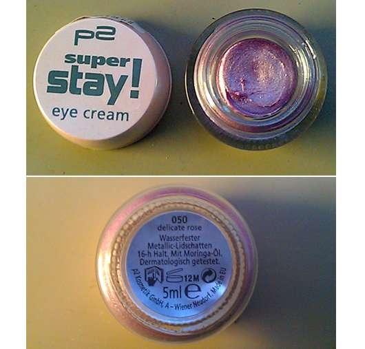 p2 super stay! eye cream, Farbe: 050 delicate rose