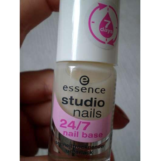 essence studio nails 24/7 nail base