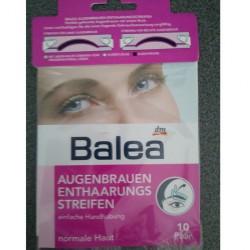 Produktbild zu Balea Augenbrauen-Enthaarungsstreifen normale Haut