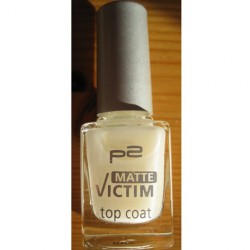 Produktbild zu p2 cosmetics matte victim top coat