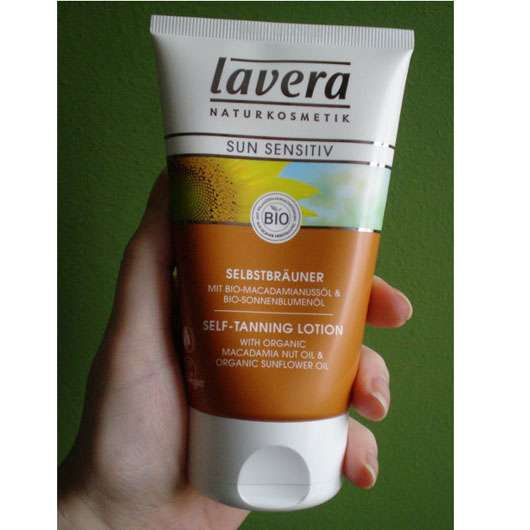 <strong>lavera Sun sensitiv</strong> Selbstbräuner