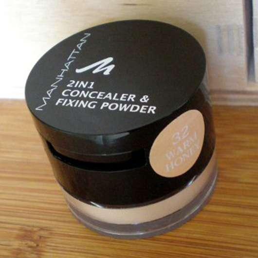 Manhattan 2in1 Concealer & Fixing Powder, Farbe: 32 Warm Honey