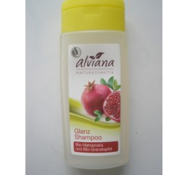 Produktbild zu alviana Glanz Shampoo Bio-Hamamelis und Bio-Granatapfel