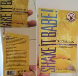 Produktbild zu Dresdner Essenz Shake It Babe 2-Phasen Bad Banane (LE)