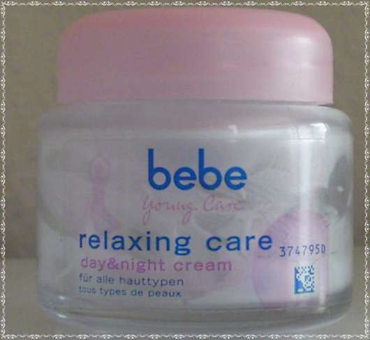 bebe Young Care relaxing care day & night cream