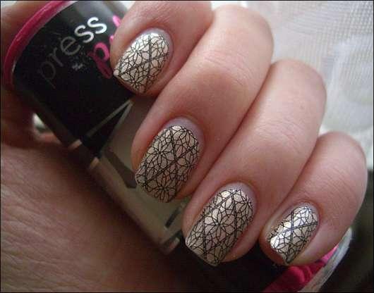 INCOCO Press Polish Premium Nail Lacquer, Farbe: Celine