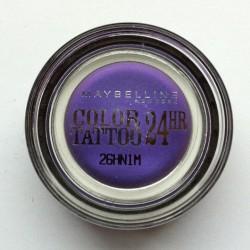Produktbild zu Maybelline New York Eyestudio Color Tattoo 24HR Gel-Cream Eyeshadow – Farbe: 15 Endless Purple