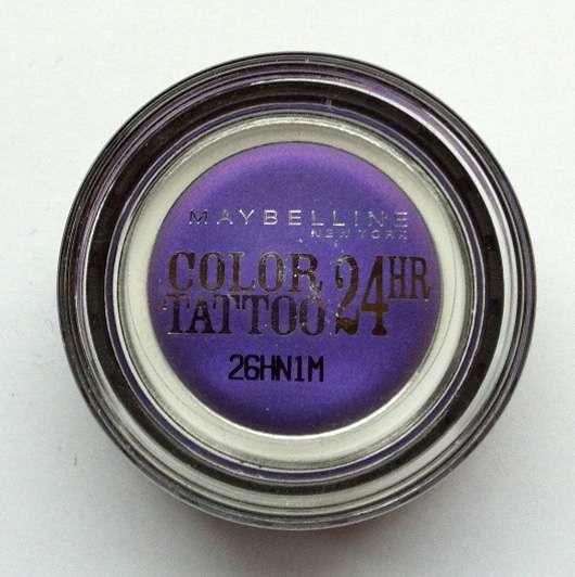 Maybelline Jade Eyestudio Color Tattoo 24HR Gel-Cream Eyeshadow, Farbe: 15 Endless Purple
