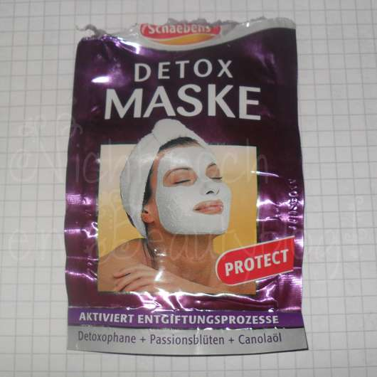 Schaebens Detox Maske