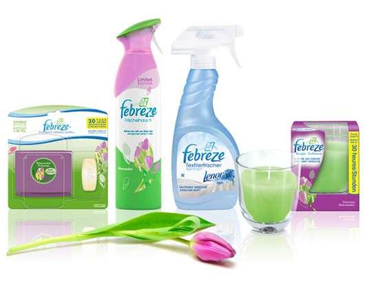 Gewinne 3 x 1 Febreze Gute-Luft-Gute-Laune-Paket