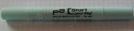p2 start your day! hallo-wach-effekt lip gel