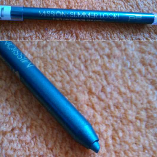 p2 mission summer look! high performing eye pencil, Farbe: 030 turquoise deluxe (LE)