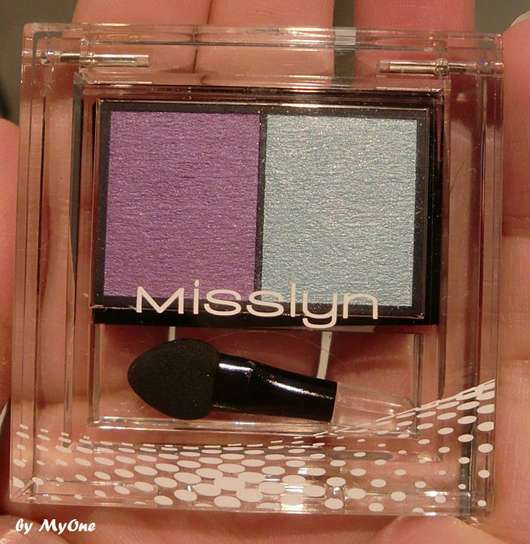 Misslyn High Shine Duo Eyeshadow, Farbe: 124 Crazy Butterfly