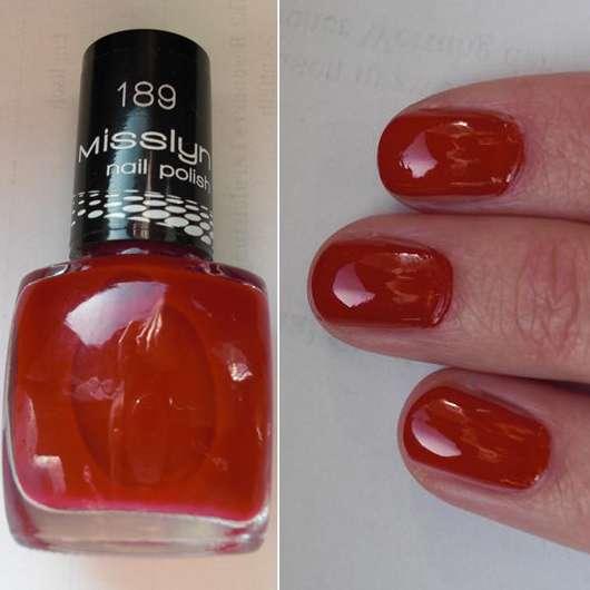 Misslyn nail polish, Farbe: 189 Matador