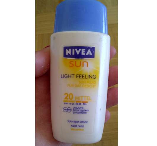 Nivea Sun Light Feeling Sun Fluid 20 Mittel