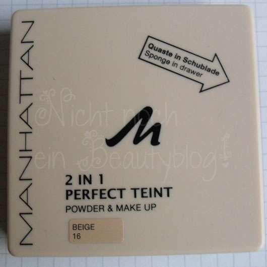 Manhattan 2in1 Perfect Teint Powder & Make Up, Farbe: 16 Beige