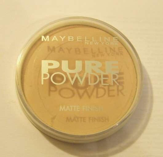 Maybelline New York Pure Powder Matte Finish, Farbe: 021 beige