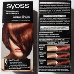 Produktbild zu SYOSS Dauerhafte Coloration – Farbe: 5-28 Kastanie