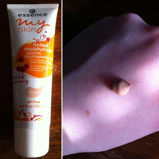 essence my skin tinted moisturizer (light skin)