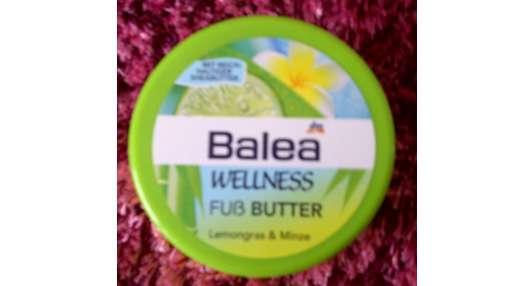 Balea Wellness Fuß Butter Lemongras & Minze