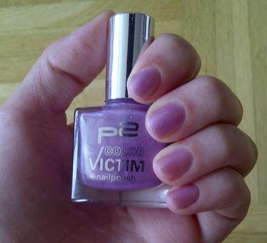 p2 color victim nail polish, Farbe: 169 electric