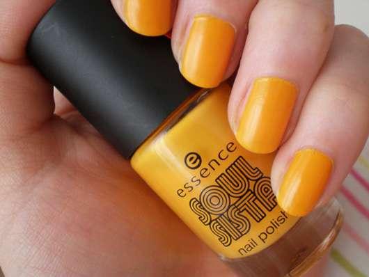 essence soul sista nail polish, Farbe: 01 chilled orange (LE)