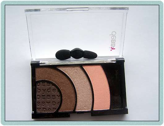 <strong>debby</strong> colorcase quad eyeshadow - Farbe: 05 brown must have