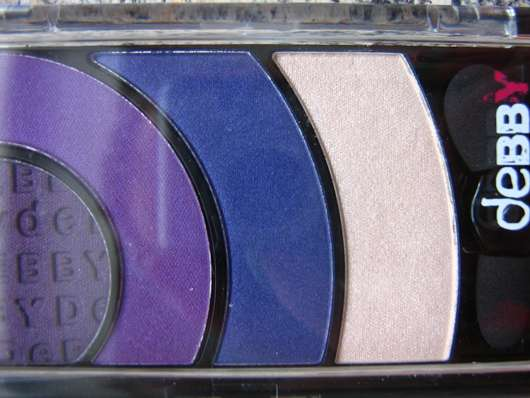 <strong>debby</strong> colorcase quad eyeshadow - Farbe: 03 violet show