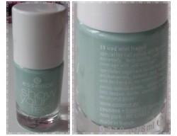 Produktbild zu essence show your feet toe nail polish – Farbe: 13 iced mint frappé