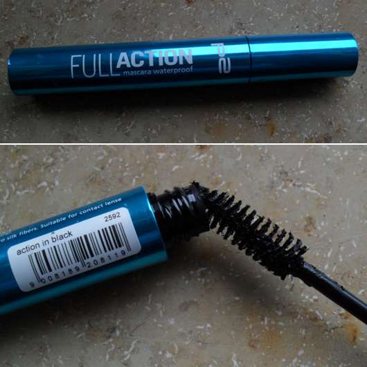 p2 full action mascara waterproof