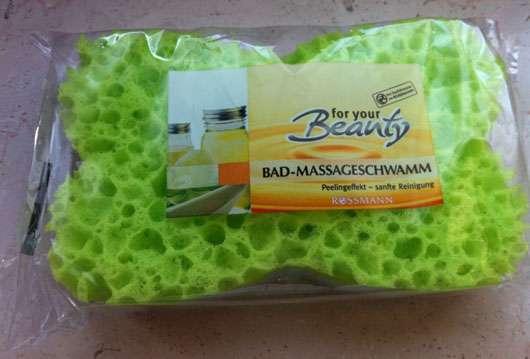 for your Beauty Bad-Massageschwamm
