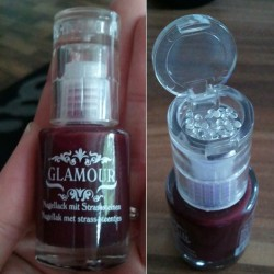 Produktbild zu Glamour Nagellack mit Strasssteinen – Farbe: 5