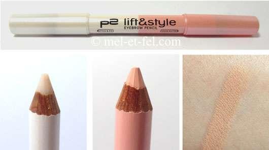 p2 lift & style eyebrow pencil