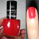 Misslyn Nail Polish, Farbe: 180 Red Carped
