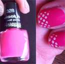 Misslyn nail polish, Farbe: 328 naughty pink