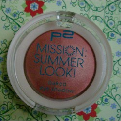 Produktbild zu p2 cosmetics mission summer look! baked eye shadow – Farbe: 010 summer lady (LE)