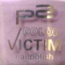 p2 color victim nail polish, Farbe: 015 gracious