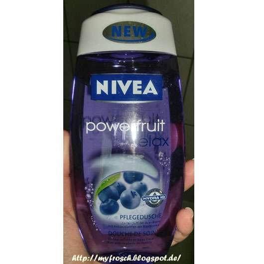 "Nivea ""powerfruit relax"" Pflegedusche"