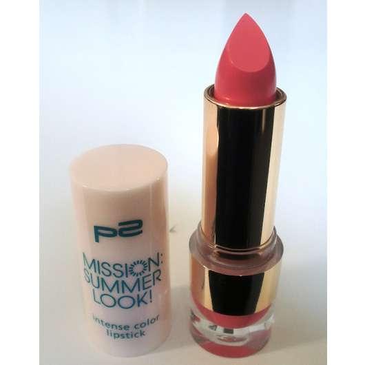 p2 mission summer look! intense colour lipstick, Farbe: 020 pretty in pink (LE)