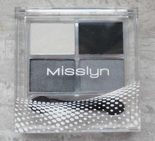 Misslyn Quattro Eyeshadow, Farbe: 55 Smokey Eyes