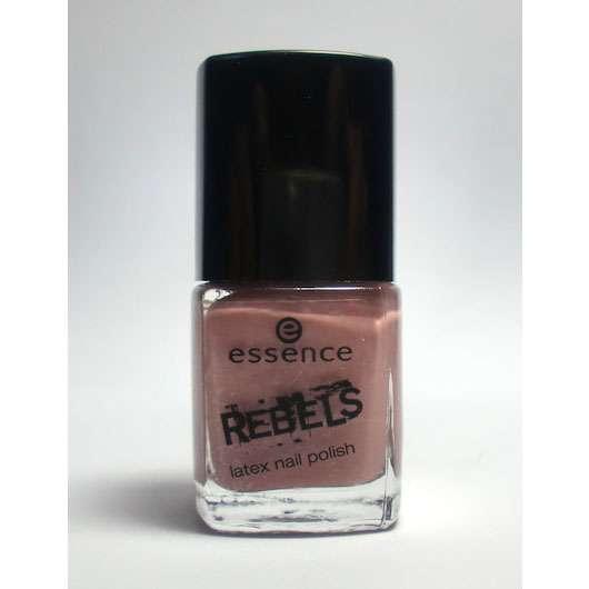 test nagellack essence rebels latex nail polish farbe 01 mauve like a rockstar le. Black Bedroom Furniture Sets. Home Design Ideas