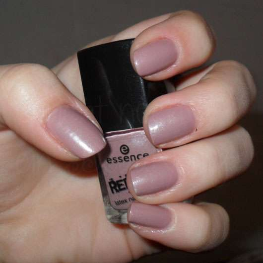 essence rebels latex nail polish, Farbe: 01 mauve like a rockstar (LE)