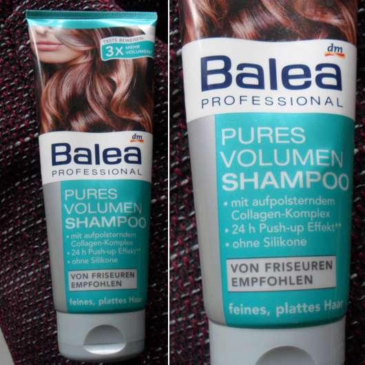 test shampoo balea professional pures volumen shampoo testbericht von steffisbuntewelt. Black Bedroom Furniture Sets. Home Design Ideas