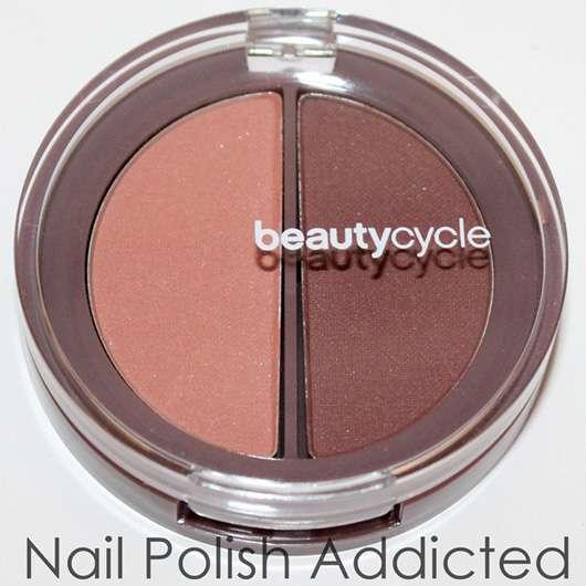 <strong>beautycycle colour</strong> eye shadow duo - Farbe: mahogany quartz