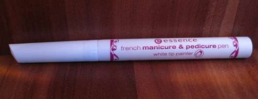 essence french manicure & pedicure pen white tip painter