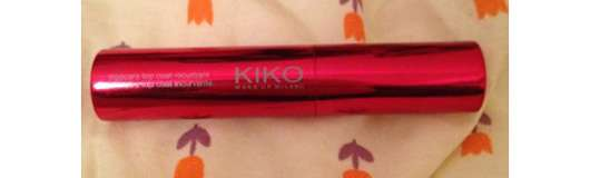 Kiko False Lashes Concentrate Curling Top Coat Mascara