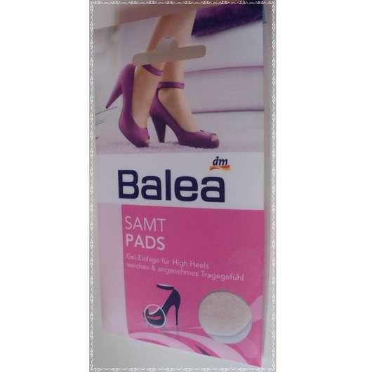 Balea Samt Pads Gel-Einlage für High Heels