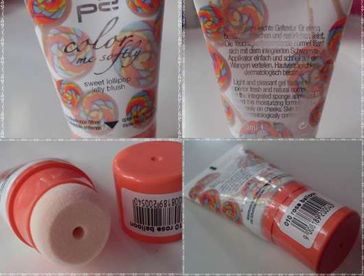 p2 color me softly sweet lollipop jelly blush, Farbe: 010 rose balloon (LE)