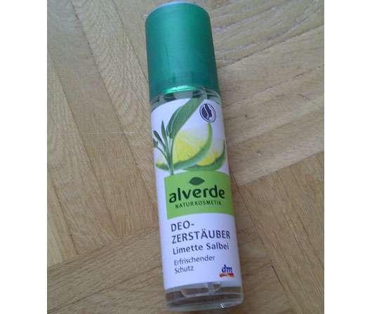 alverde Deo-Zerstäuber Limette Salbei